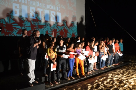 Alunos do Audiovisual (Foto: Pedro Corso de Albuquerque)