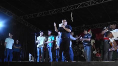 Pe. João Maria dos Anjos, organizadores e Comunidade Shalon