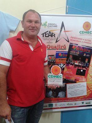Cristiano Nunes, ganhador do Prêmio CDHEC - Cidadania. (Foto: Edmilza Karla)