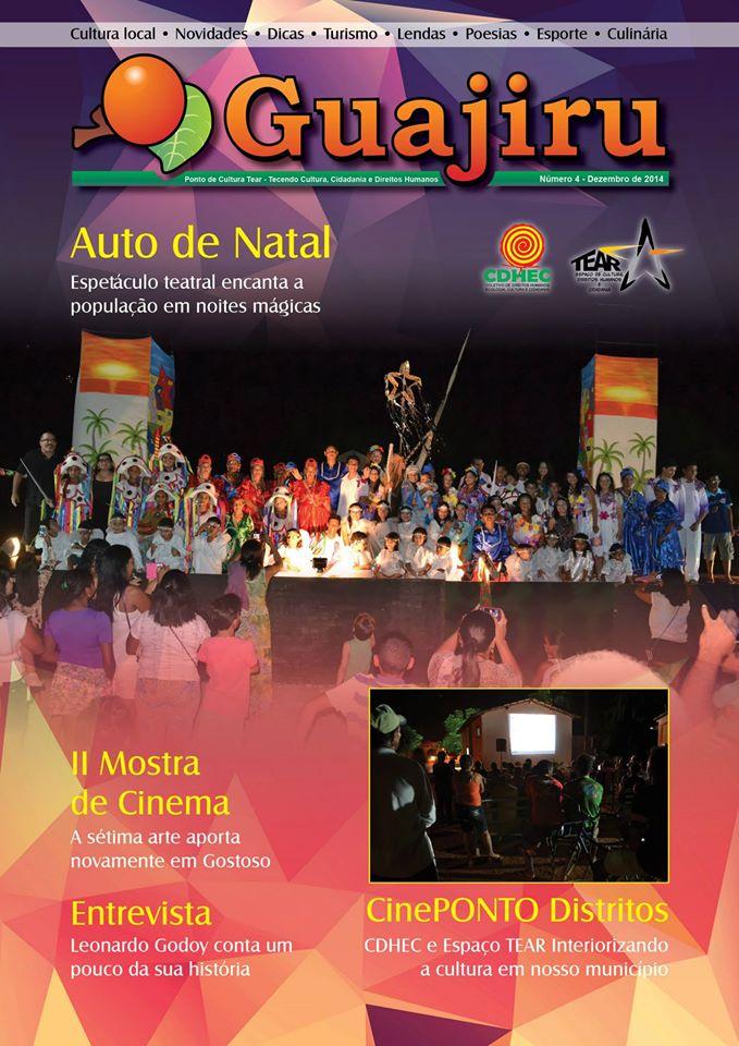 Capa da Revista Guajirú nº 04. (Foto: Alessandro Amaral)