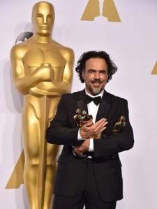 Alejandro G. Iñarritu levou três estatuetas para casa.
