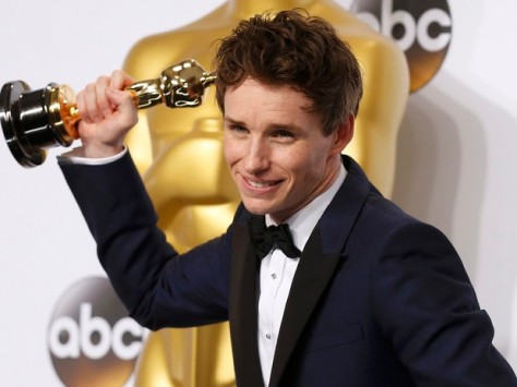 Eddie Redmayne ganha Oscar.