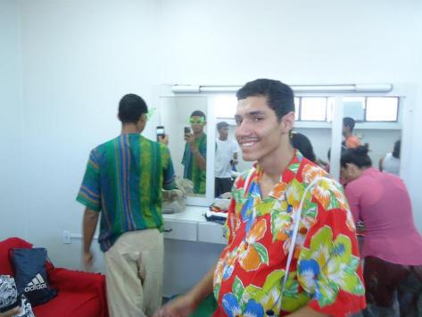 Fernando também é ator do grupo Nós Na Rua.