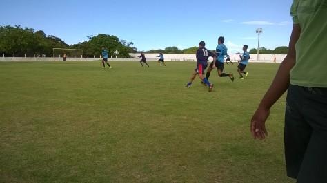 Grêmio x São Caetano fizeram um grande jogo.