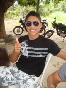 Lucas Ribeiro foi o motociclista ferido, quadro dele é estável.