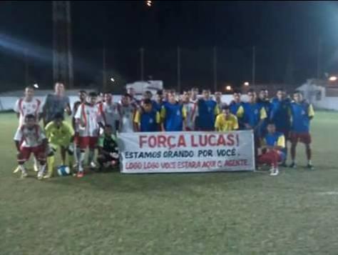Homenagem feita pelo clube Guaraní em conjunto com o JP.