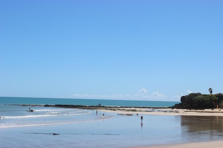 Praia do Tourinho pode receber urbanização. (Foto: Fernando Miranda)