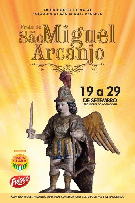 Cartaz Oficial da Festa de São Miguel Arcanjo