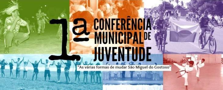 Logo da Conferência da Juventude