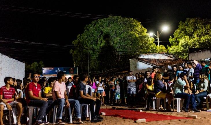 Público presente na cerimônia  (Foto: Ariclenes Silva)