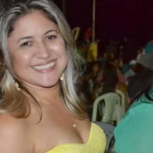 Secretária de Turismo e Comunicação, Janielle Linhares.