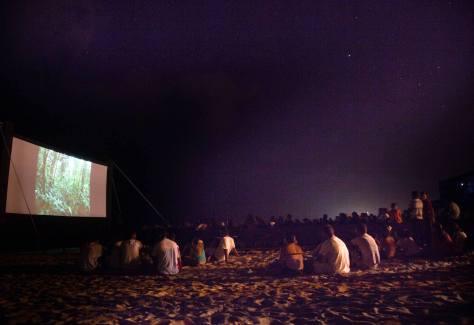 Mostra de Cinema de Gostoso entrou para o calendário do estado. Na foto a edição de 2014.