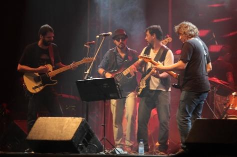 Nordeste Blues se apresentou na Praia da Xêpa (Foto: Rogério Correia)