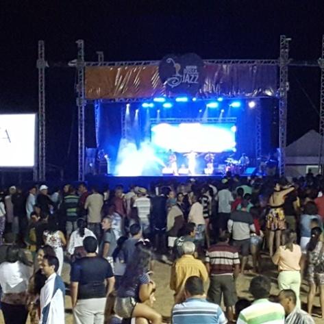 Público no Fest Bossa & Jazz. (Foto: Rogério Correia).