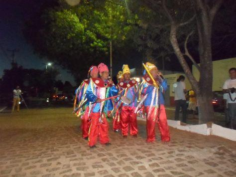 Grupo do Boi de Reis.