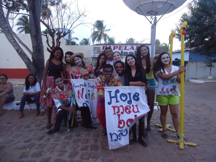 Grupo de teatro Nois Na Rua participou da Mostra em 2013.