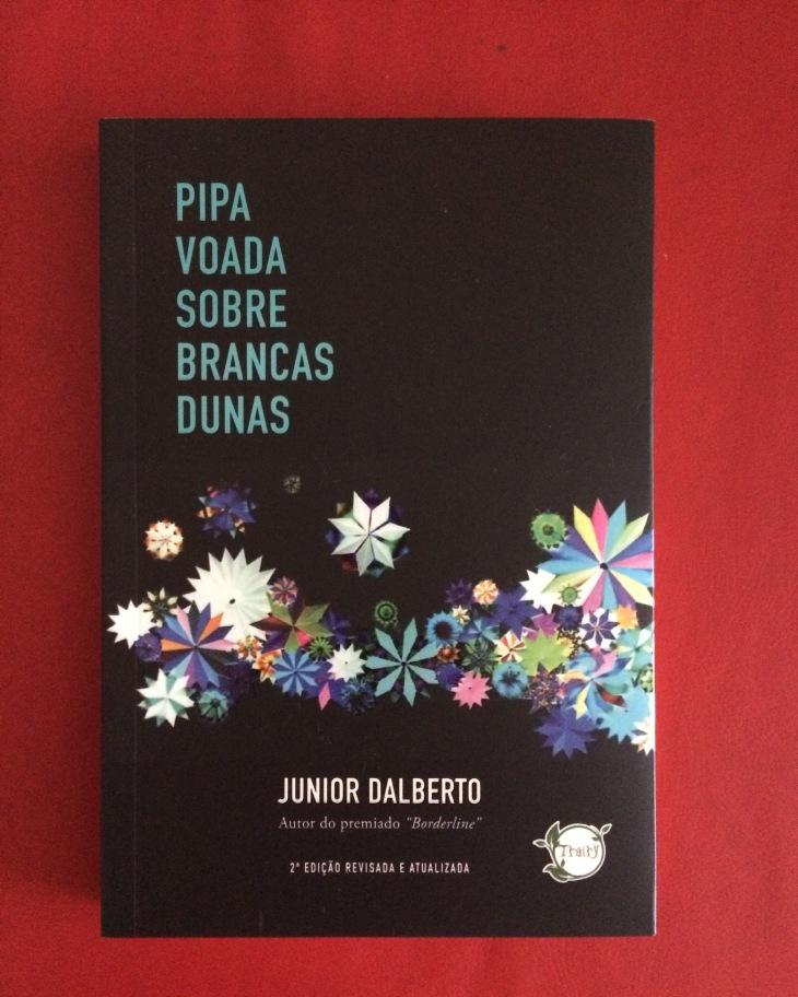 "Capa do livro ""Pipa Voada Sobre Brancas Dunas"" (Foto: Gustavo Farache)."