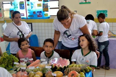 EXPARTEC mobiliza todo o corpo escolar (FOTO: Ariclenes Silva)
