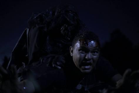"""Cena do filme """"O Pai da Noite"""", pelo jeito vem muito sangue por aí! (Foto: divulgação)"""