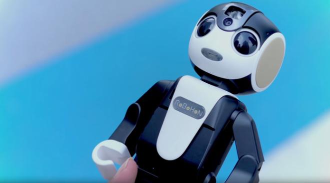 Robohon é o celular em formato de robô da Sharp (Foto: Divulgação)