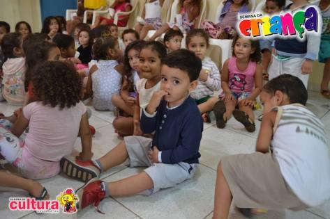 As criancinhas foram destaque do 3º dia.
