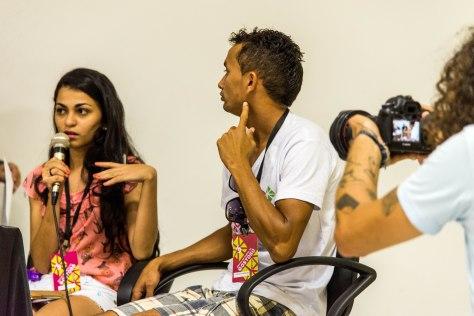 Alunos do Curso Técnico e Audiovisual apresentaram seu filme.
