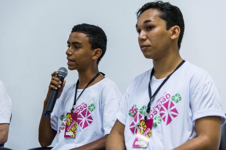 Membros do Coletivo Nós do Audiovisual.