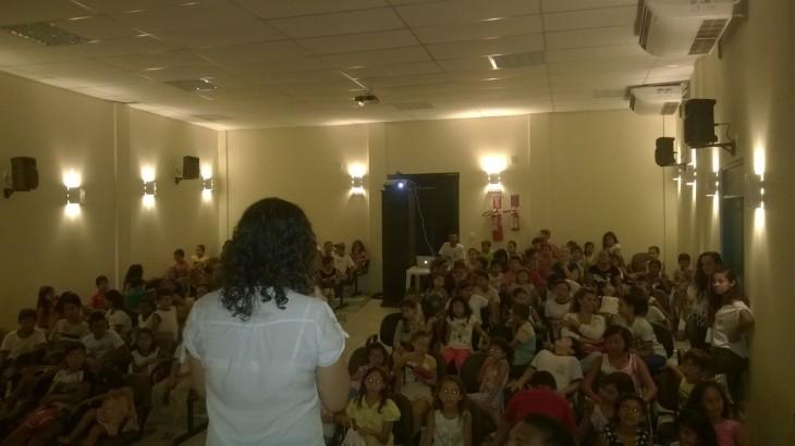 Auxiliadora Ribeiro mediou as sessões.