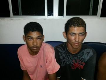 Um dos dois jovens detidos é do município de Parazinho.