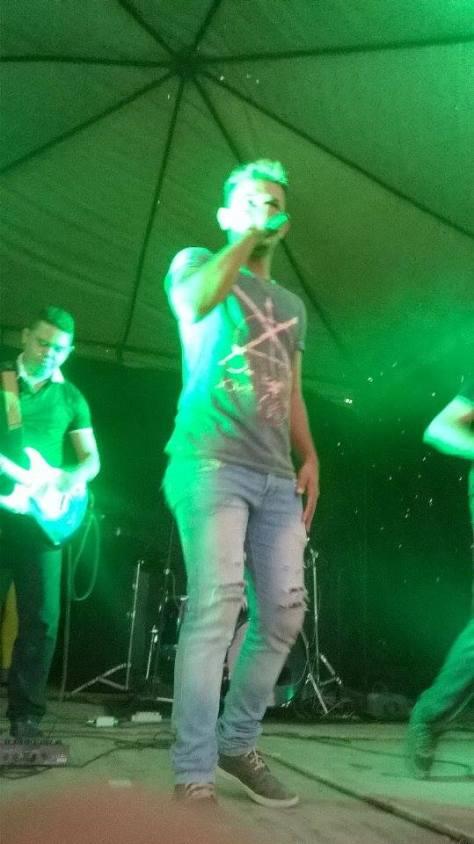 Pedro Rick foi uma das atrações da Festa da Tabua 2015