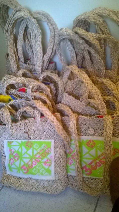 Ana Barbosa produziu 105 bolsas em 60 dias para a Mostra.