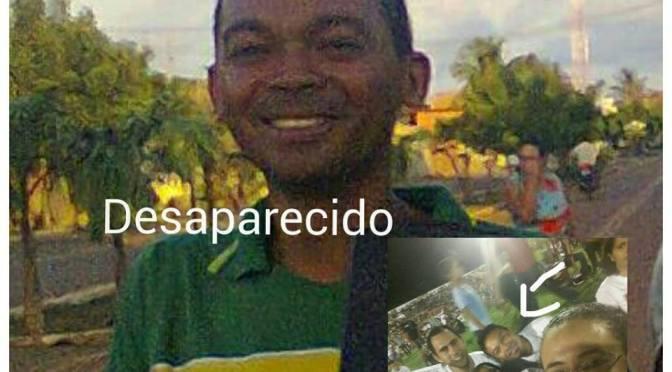 JOVEM GOSTOSENSE DESAPARECIDO EM JUAZEIRO DO NORTE/CE