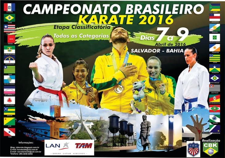 brasileiro de karatê 2016