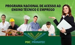 PRONATEC OFERECE 2 MILHÕES DE VAGAS PARA CURSO TÉCNICO E QUALIFICAÇÃO PROFISSIONAL