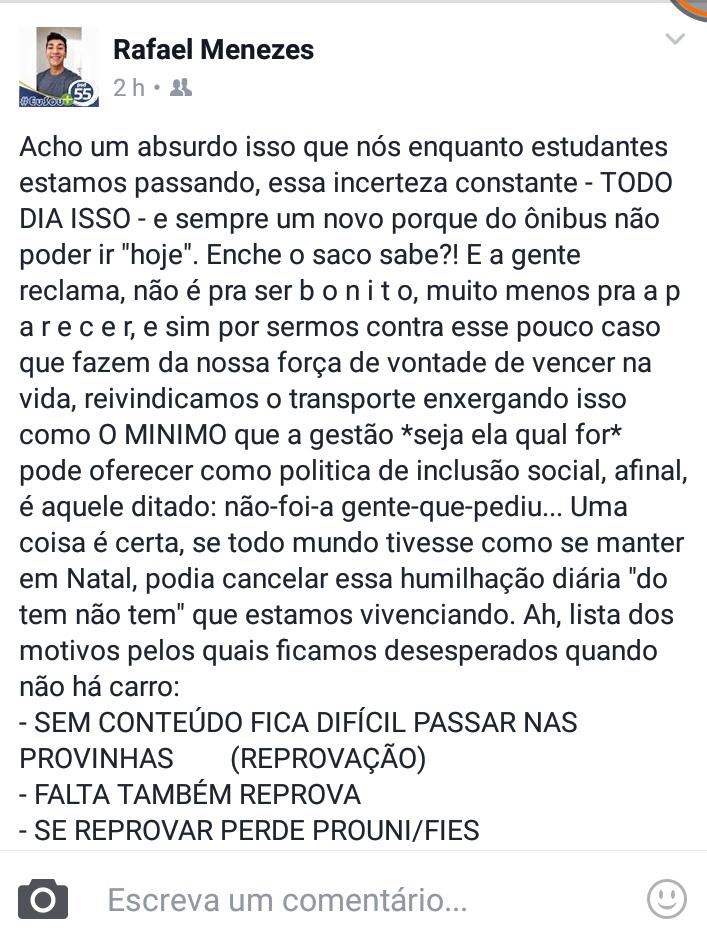Desabafo REDES 01