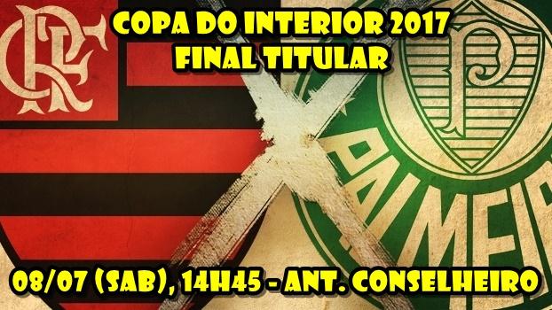 COMISSÃO DA COPA DO INTERIOR MARCA A DATA DA FINAL DA COMPETIÇÃO