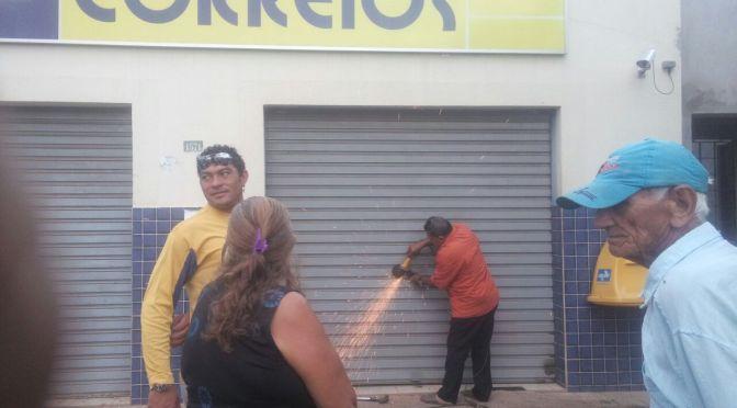 CONFIRA OS DETALHES DO ASSALTO ORQUESTRADO AOS CORREIOS DE GOSTOSO DESTA SEXTA (30)