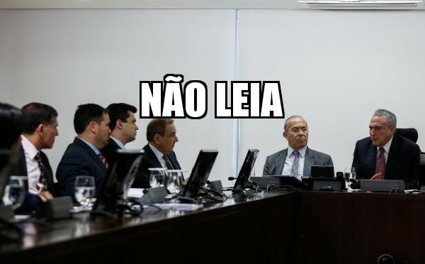 """MATÉRIA SOBRE """"REUNIÃO"""""""