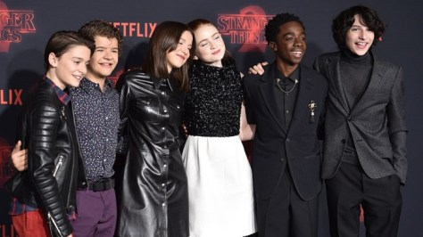 'Stranger Things 2' TV show premiere, Arrivals, Los Angeles, USA - 26 Oct 2017