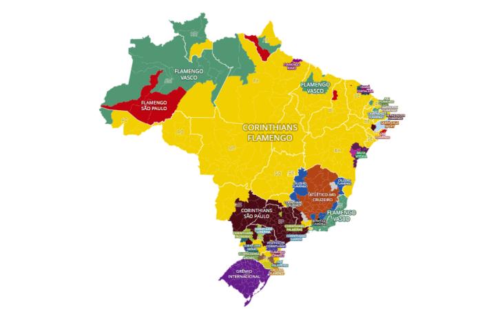 mapa curtidas brasil