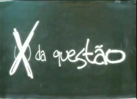 CURSINHO O X DA QUESTÃO