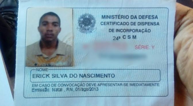 """""""É GUERRA DE FACÇÕES"""", DIZ SARGENTO DA PM GOSTOSENSE SOBRE CASO ERICK"""