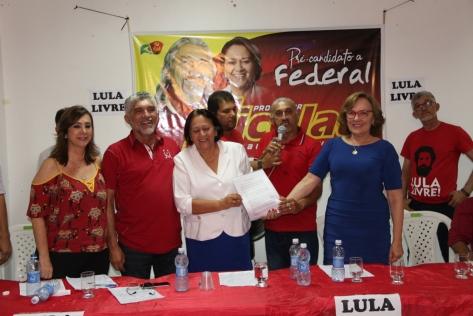 Zenaide em Fernando Pedroza