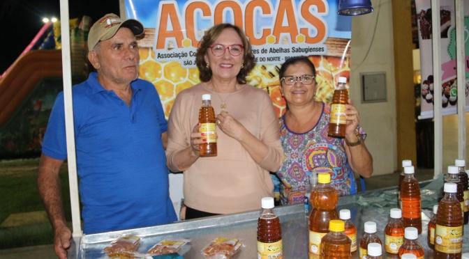 ZENAIDE MAIA PRESTIGIA 45ª EXPOSIÇÃO AGROPECUÁRIA DO SERIDÓ