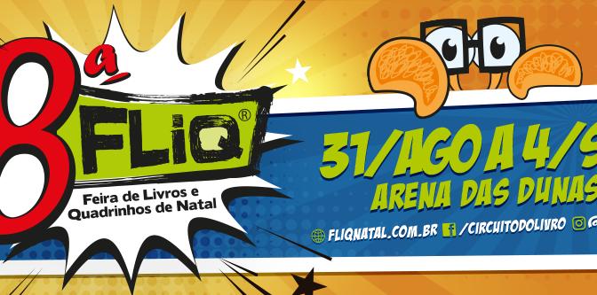 8ª FLIQ DE 31 À 04 DE SETEMBRO