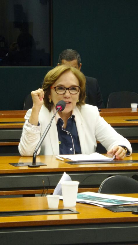 Zenaide Maia fala na instalação da Comissão (1)