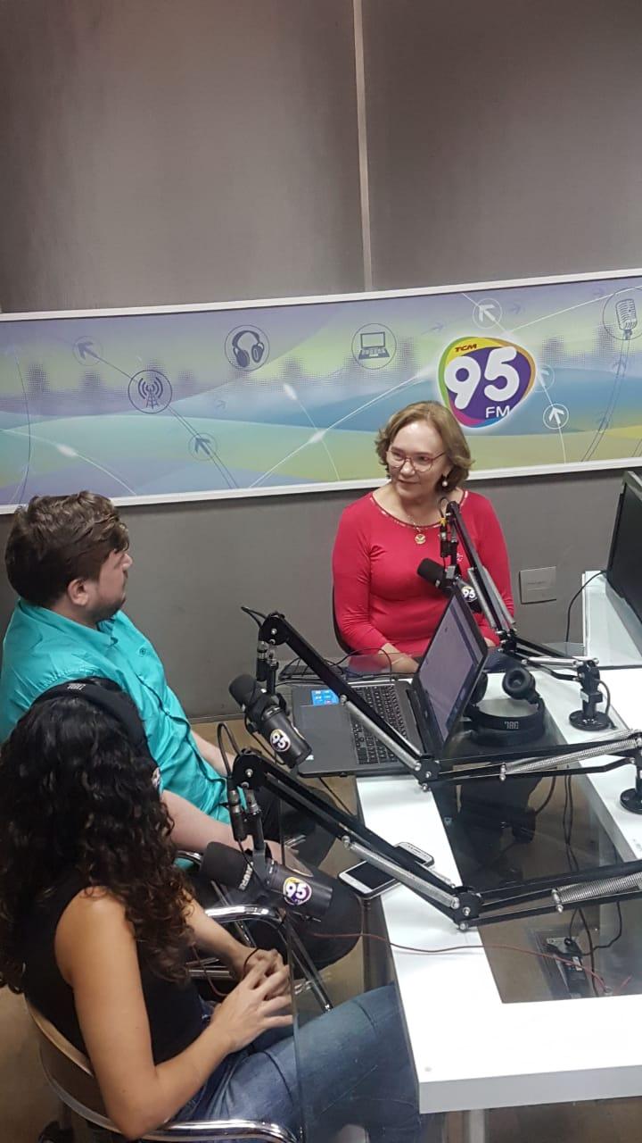Zenaide na Rádio 95 FM