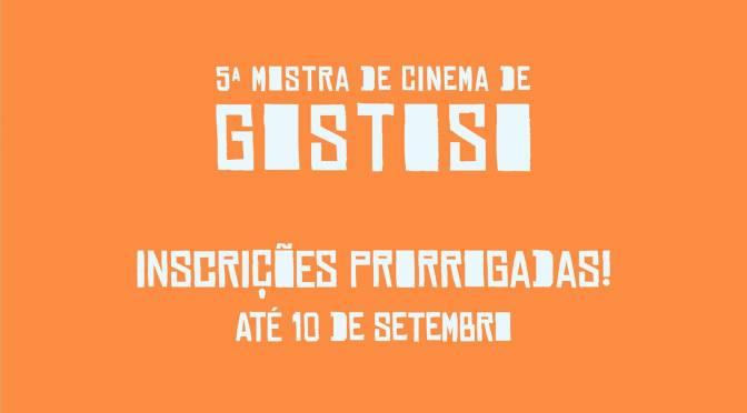 PRORROGADAS INSCRIÇÕES PARA 5ª MOSTRA DE CINEMA DE GOSTOSO
