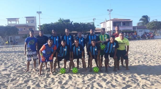 BEACH SOCCER: CORINTHIANS DE SÃO MIGUEL DO GOSTOSO ESTREIA COM VITÓRIA NA COPA DO NORDESTE