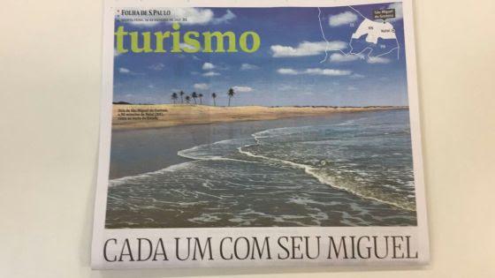JORNAL FOLHA DE SÃO PAULO ELOGIA GOSTOSO, MAS CRITICA DESORDEM NA ORLA